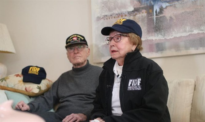 Holocaust survivor meets US army vet who liberated her