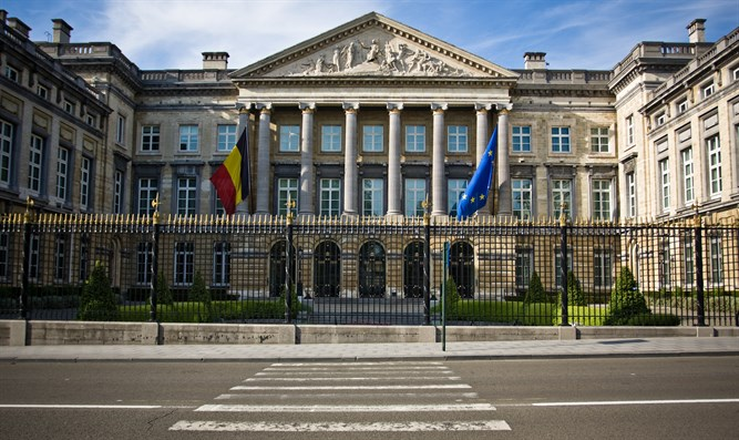 Parliament House in Belgium