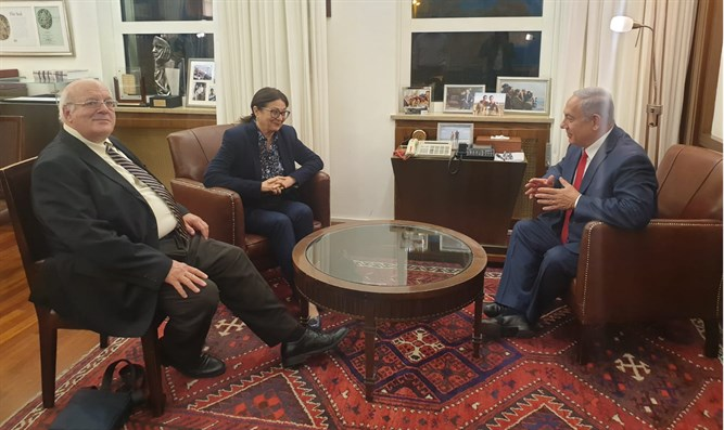 Justices Meltzer, Hayut meet with Prime Minister Netanyahu