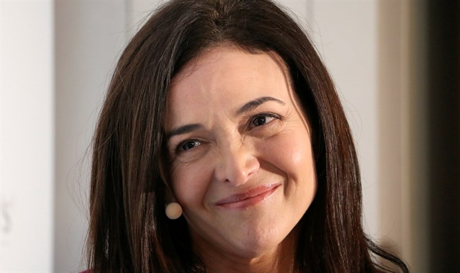 Facebook COO Sheryl Sandberg at Davos, January 23 2019
