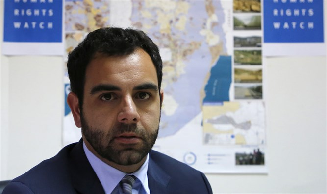 Human Rights Watch's regional director Omar Shakir