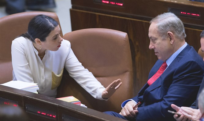 Netanyahu and Shaked