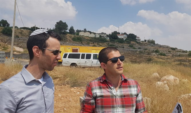 MK Kallner visits Judea and Samaria