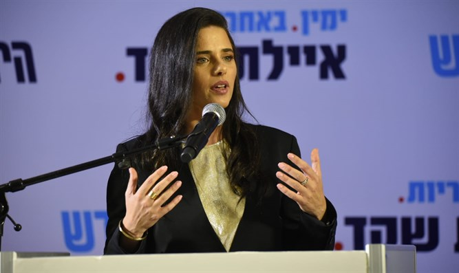 Ayelet Shaked Sunday evening