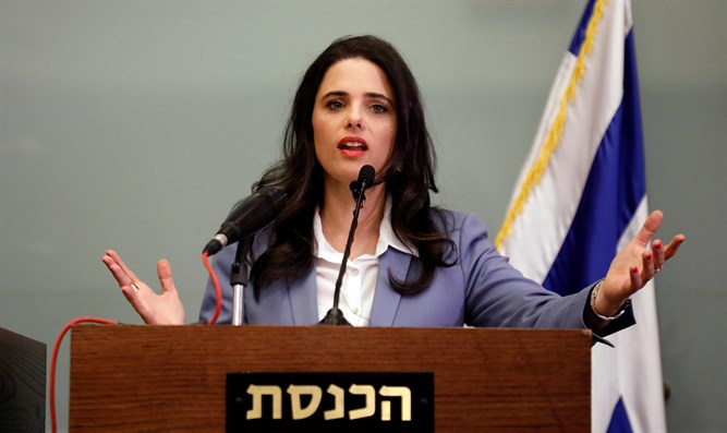 New Right chief Ayelet Shaked