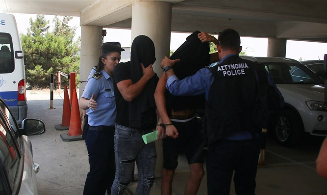 Two of the suspects taken into custody in Cyprus