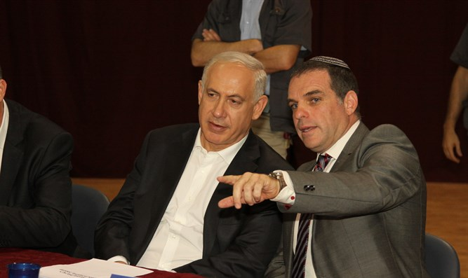 Netanyahu and Oded Revivi
