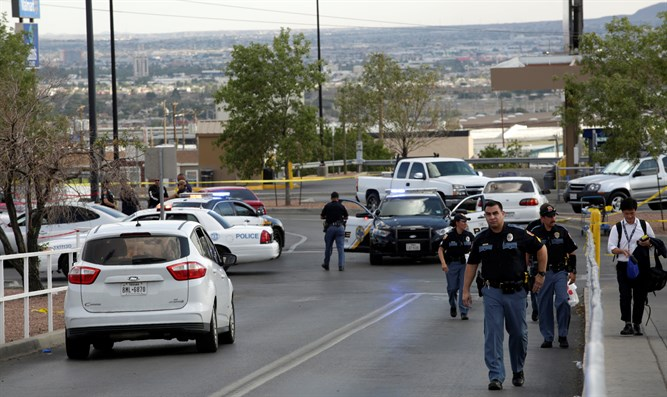 Aftermath of mass shooting at Walmart in El Paso, Texas