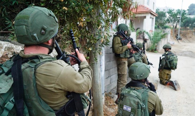 IDF soldiers hunting the terrorist who killed Rina Shnerb
