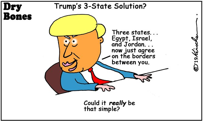 Dry Bones: 3 state solution