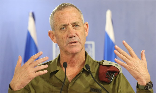Gantz on day 8 of Operation Protective Edge, July 15, 2014