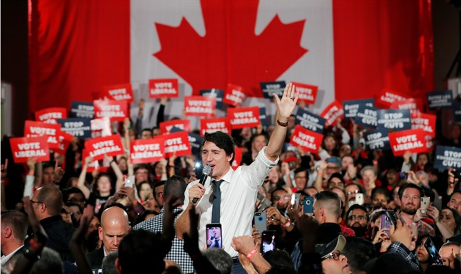 Justin Trudeau rallies supporters ahead of October 21st 2019 election