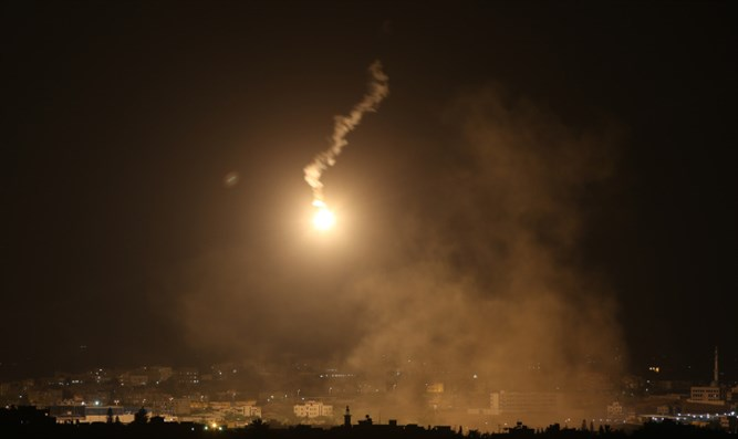 Rockets launched from Gaza