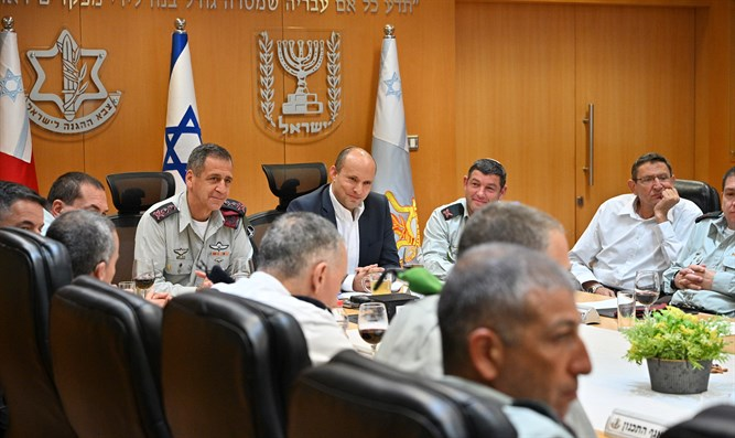 Bennett: 'IDF's mission is to uphold the Jewish State's eternal presence' - Arutz Sheva