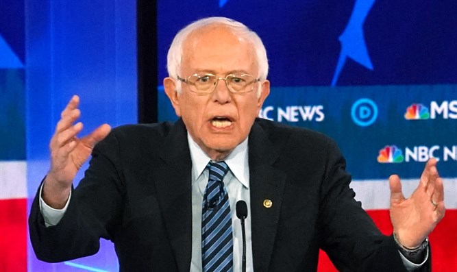Bernie Sanders at Democratic debate, November 20, 2019