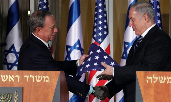 Mayor Bloomberg & PM Netanyahu