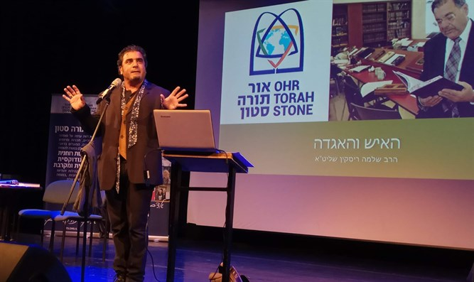 Jacky Levy debuts new play about life of Rabbi Riskin