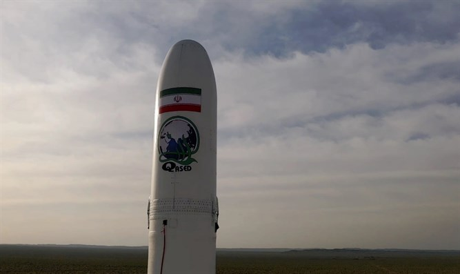 Noor satellite launched into orbit by Iran's Revolutionary Guards Corps