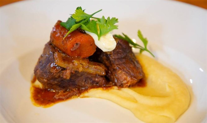 Classical French Braise and Parsnip Puree