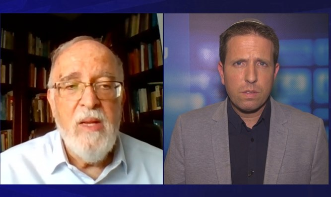 Professor Isaac Ben-Israel speaks with Arutz Sheva
